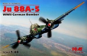 1/48 ユンカース Ju88A-5 爆撃機