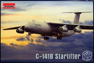 1/144 ロッキード C-141B スターリフター 戦略輸送機
