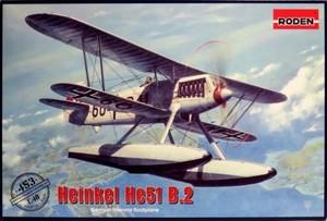 1/48 ハインケル He51 B.2 複葉水上戦闘機
