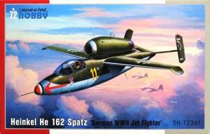 1/72 独・ハインケル He162A サラマンダー・ジェット戦闘機