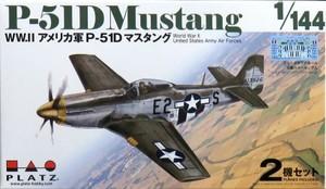 1/144 WW.II アメリカ軍 P-51D マスタング (2機セット)