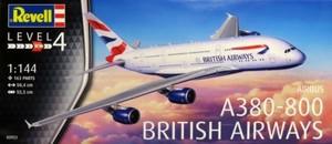 1/144 A380-800 ブリテッシュ エアウェイズ