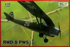 1/72 ポーランド複座練習機 RWD-8 PWS 軍用タイプ
